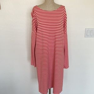 Sonnet James M striped Reese dress